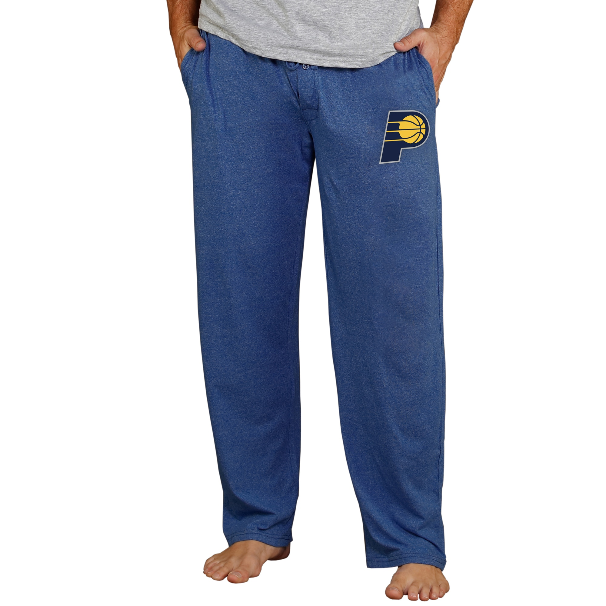 Indiana Pacers Concepts Sport Quest Knit Lounge Pants - Navy