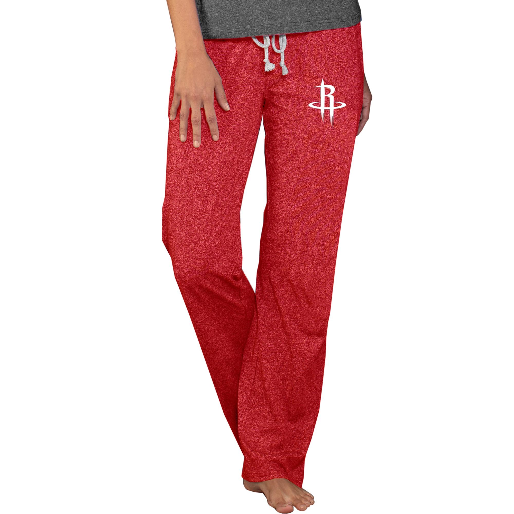 Houston Rockets Concepts Sport Women's Quest Knit Pants - Red