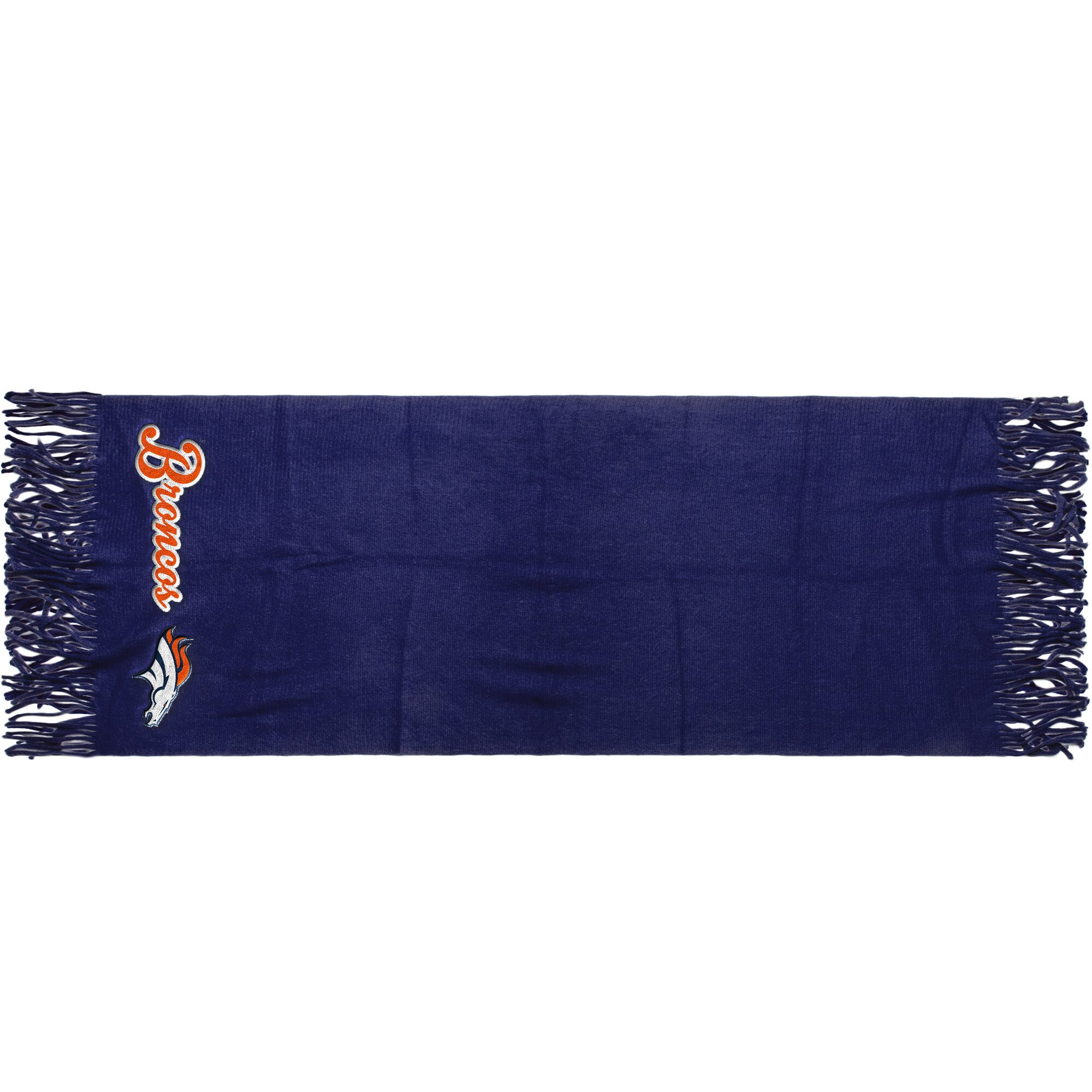 "Denver Broncos 81"" x 27"" Oversized Fringed Scarf"