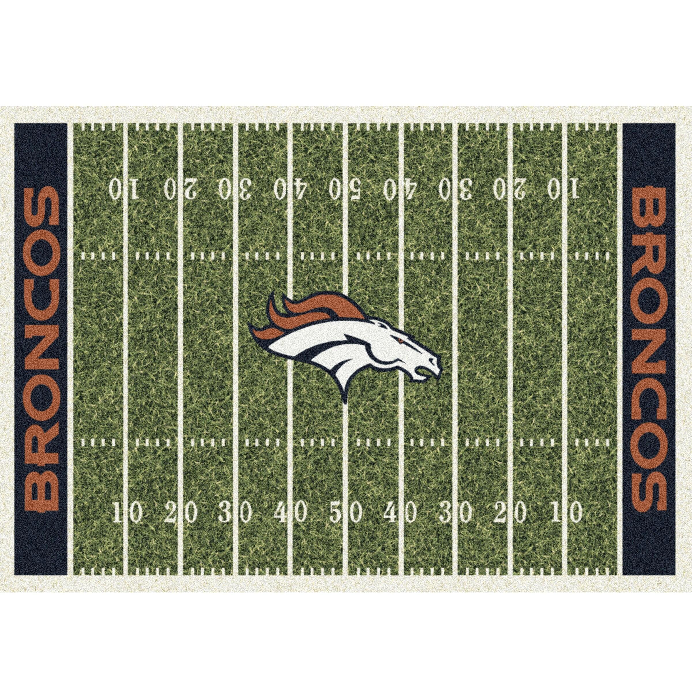 Denver Broncos Imperial 4' x 6' Homefield Rug
