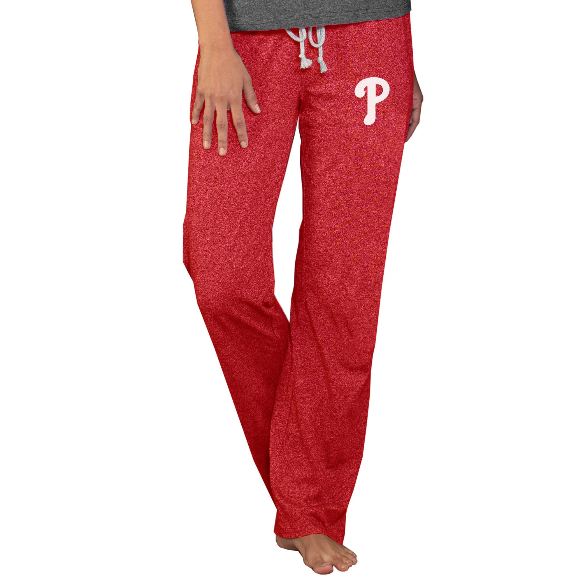 Philadelphia Phillies Concepts Sport Women's Quest Knit Pants - Red