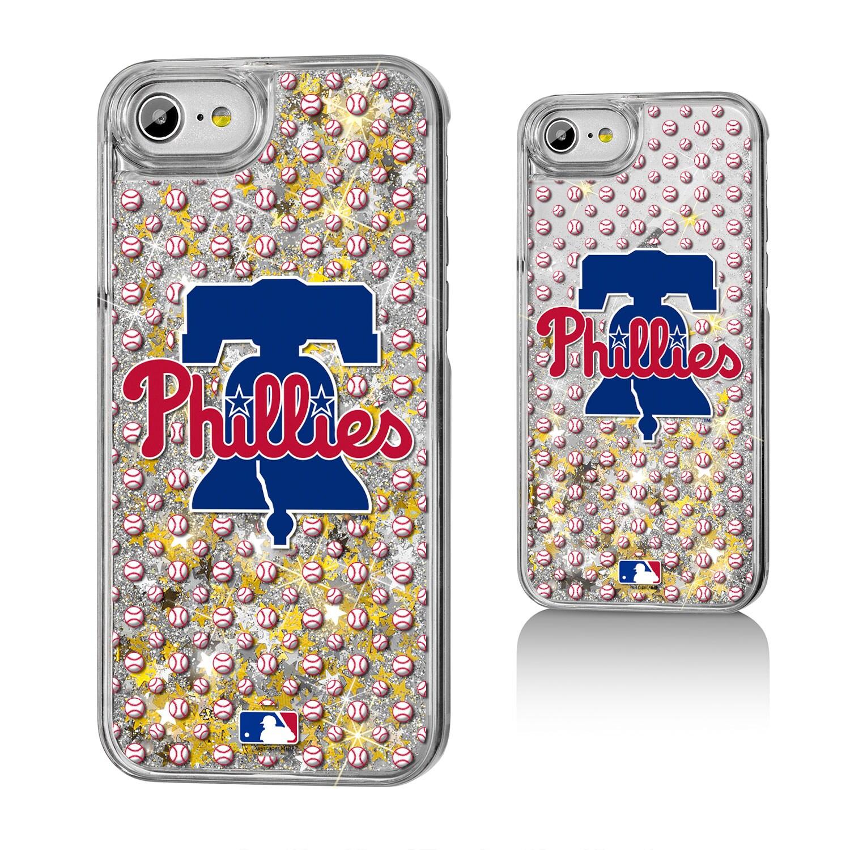 Philadelphia Phillies iPhone 6/6s/7/8 Logo Gold Glitter Case