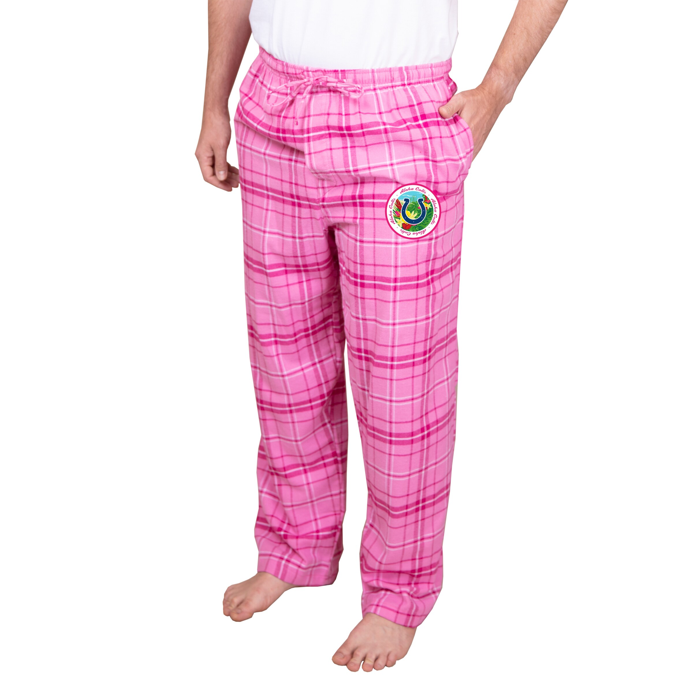 Indianapolis Colts Concepts Sport Ultimate Pants - Pink