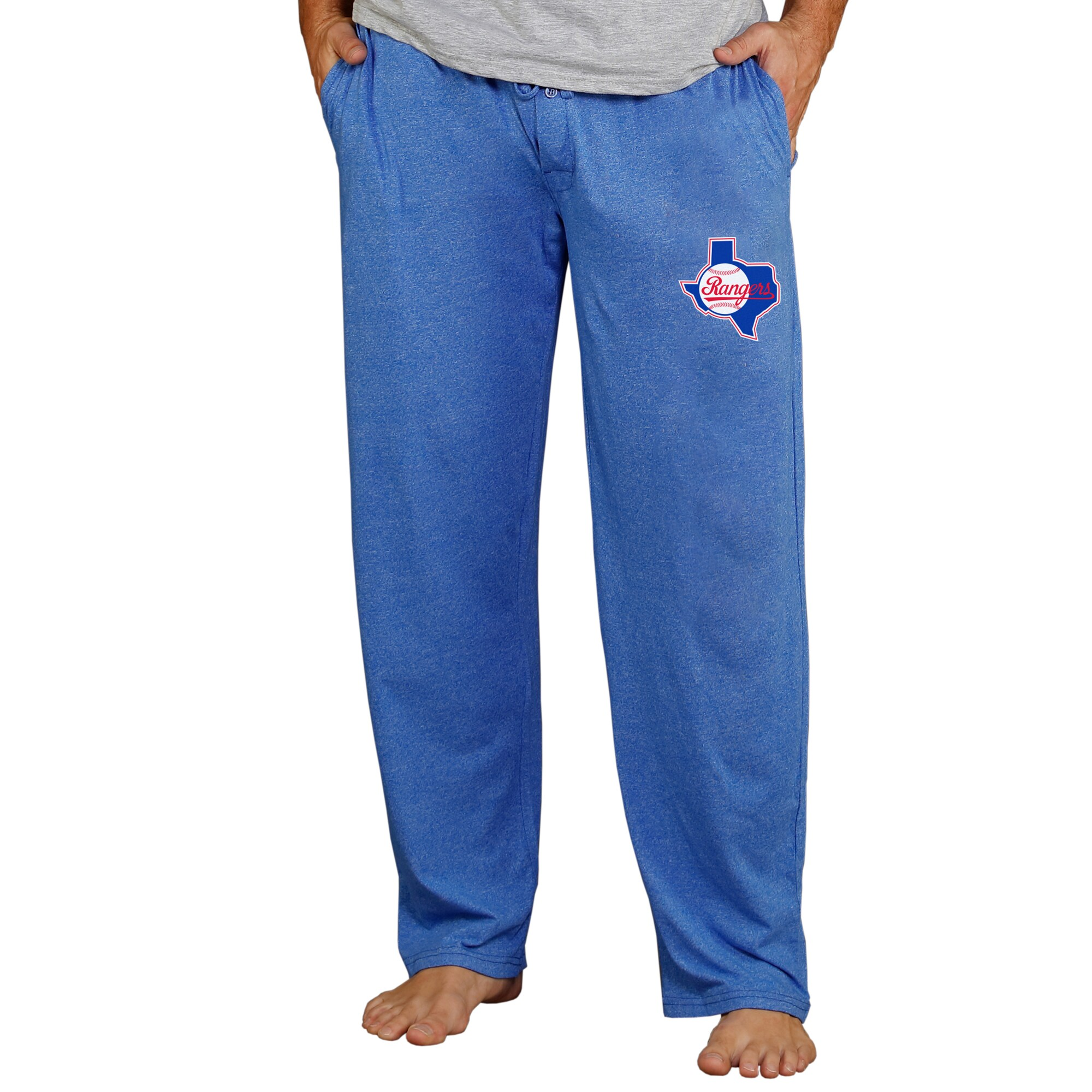Texas Rangers Concepts Sport Cooperstown Quest Lounge Pants - Royal
