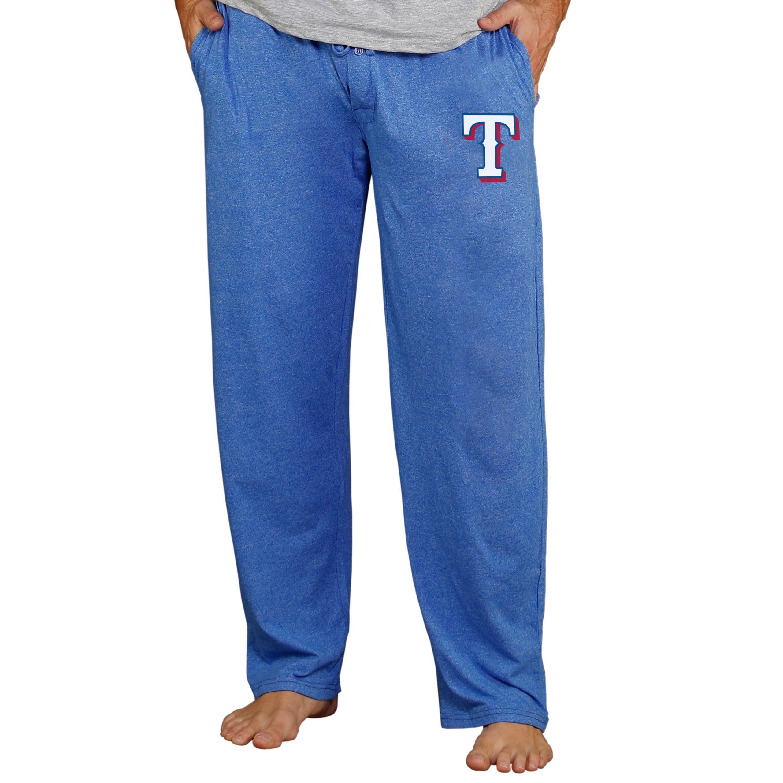 Texas Rangers Concepts Sport Quest Lounge Pants - Royal