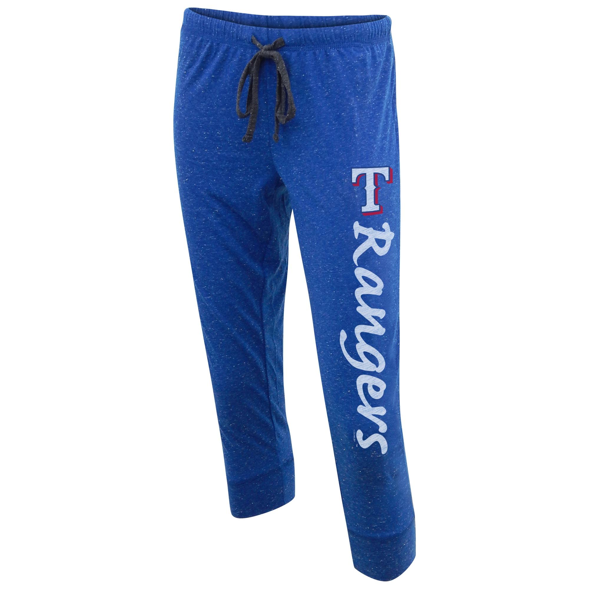Texas Rangers Concepts Sport Women's Dash Knit Capri Pants - Royal