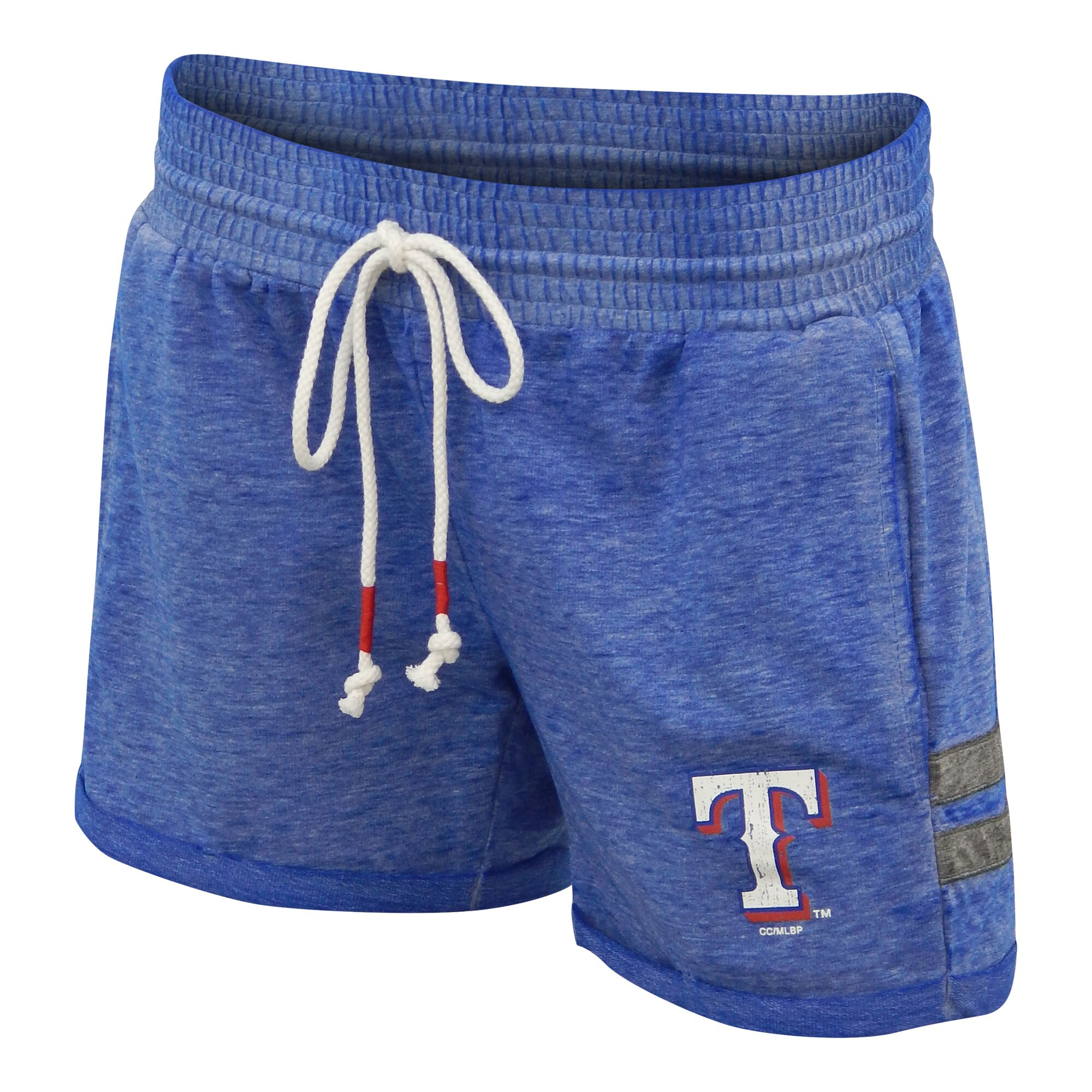 Texas Rangers Concepts Sport Women's Electrify Knit Shorts - Royal