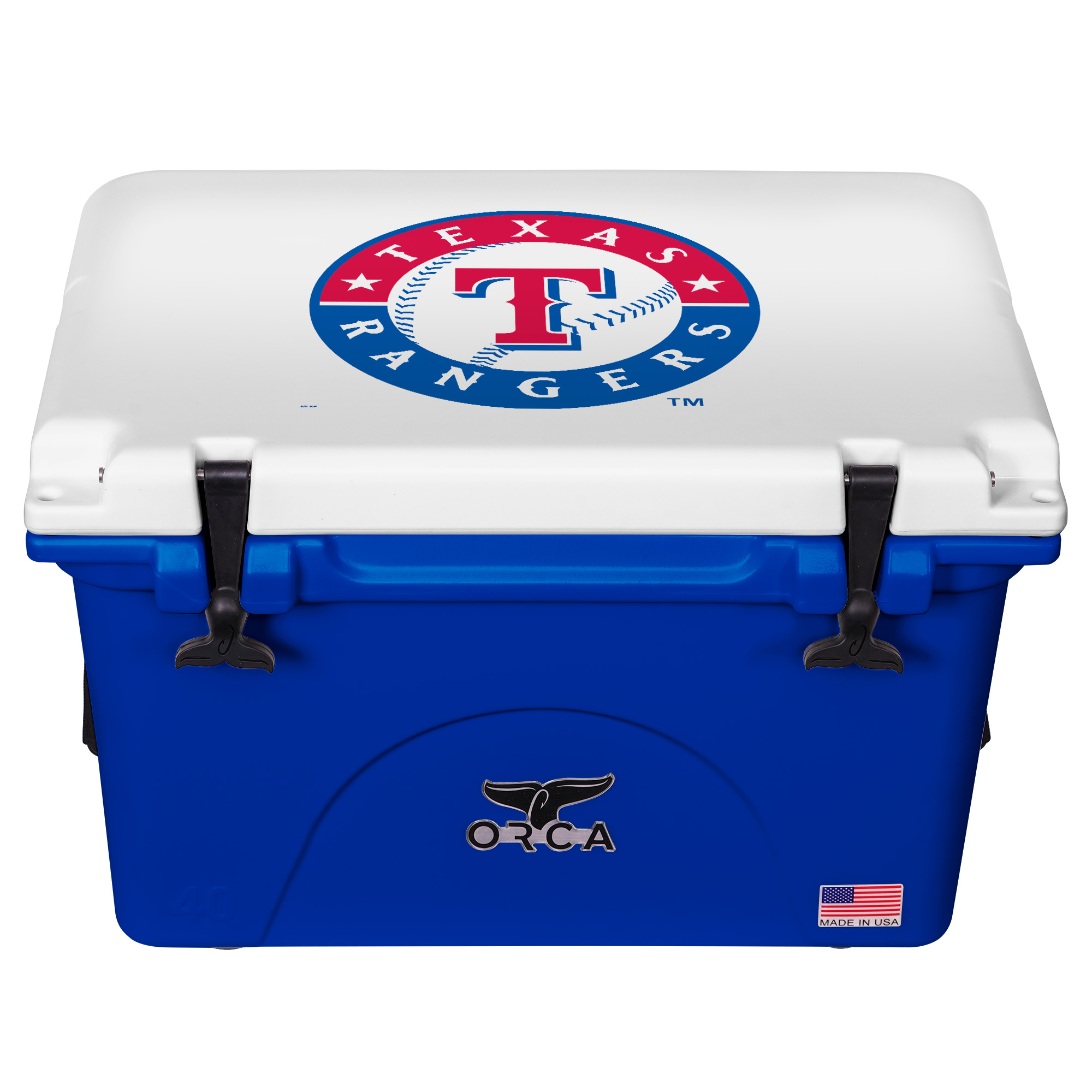 ORCA Texas Rangers 40-Quart Hard-Sided Cooler