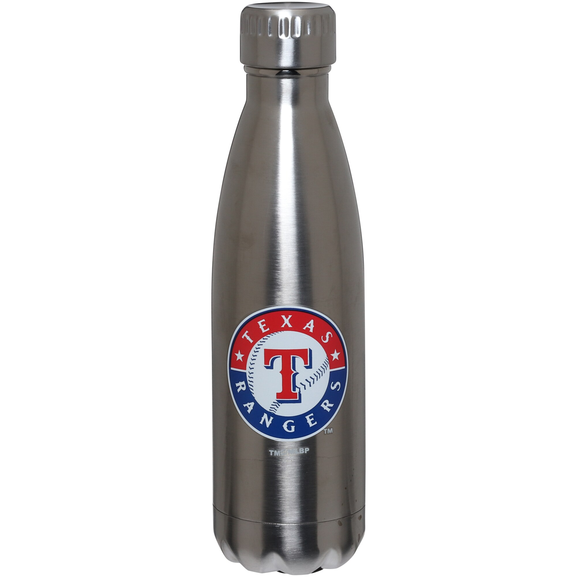 Texas Rangers 16oz. Stainless Steel Water Bottle
