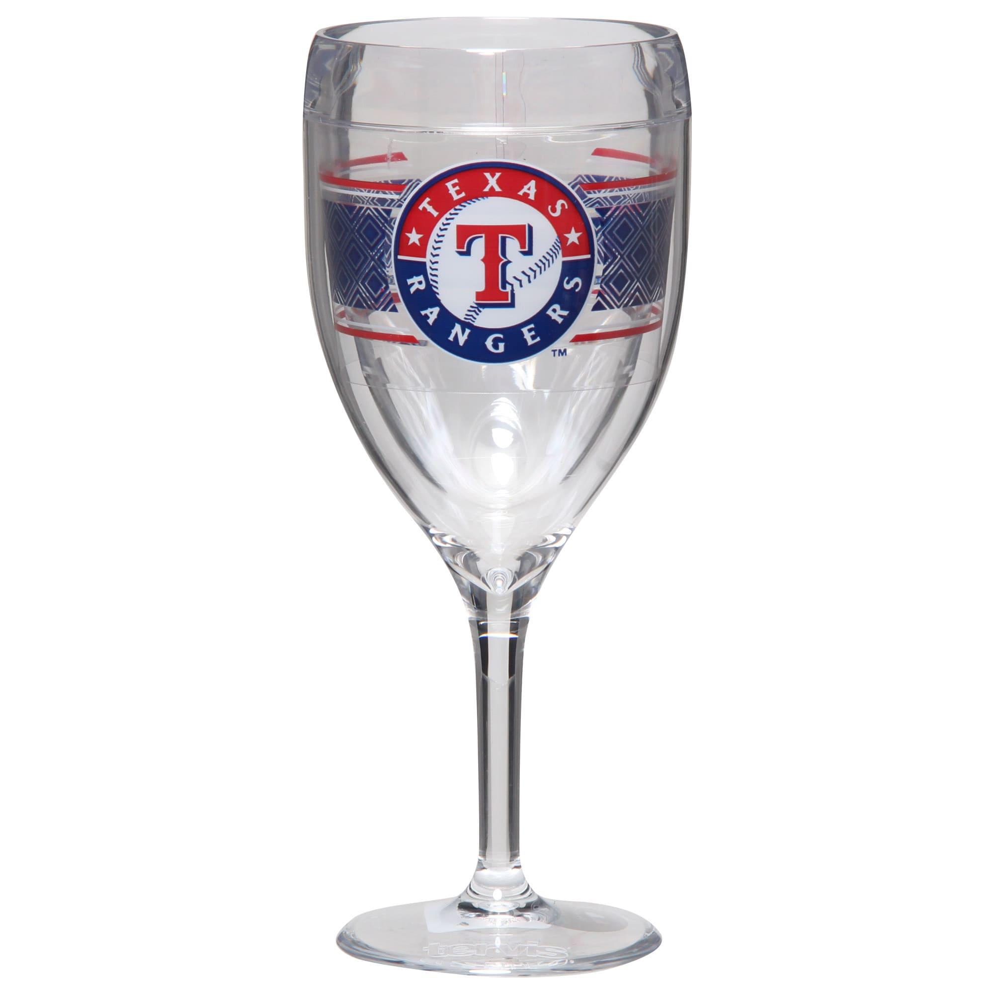 Texas Rangers Tervis 9oz. Stemmed Wine Glass