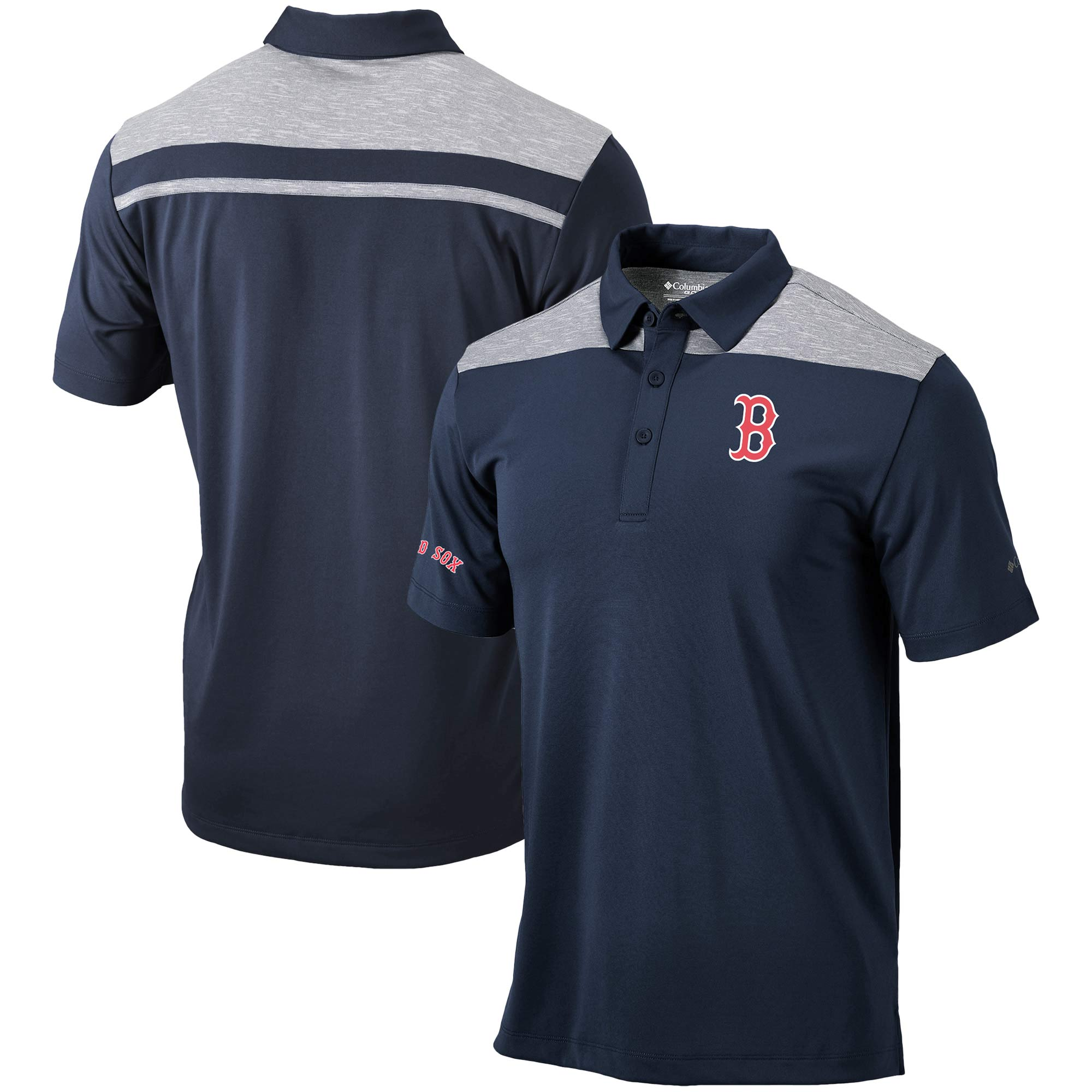 Boston Red Sox Columbia Utility Polo - Navy