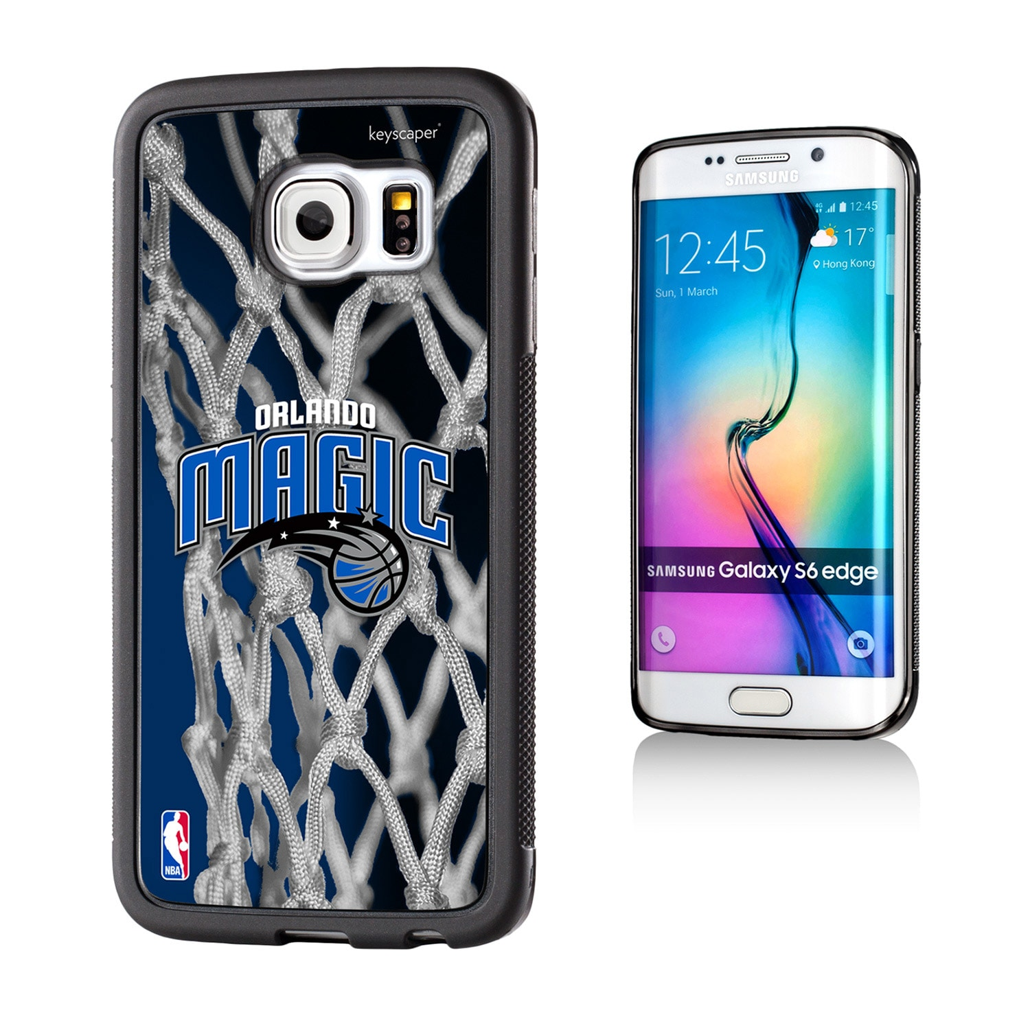 Orlando Magic Net 2 Galaxy S6 Edge Bumper Case