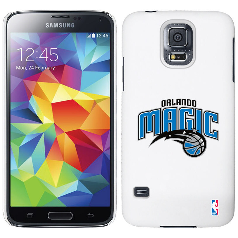 Orlando Magic Galaxy S5 Primary Logo Thinshield Case - White