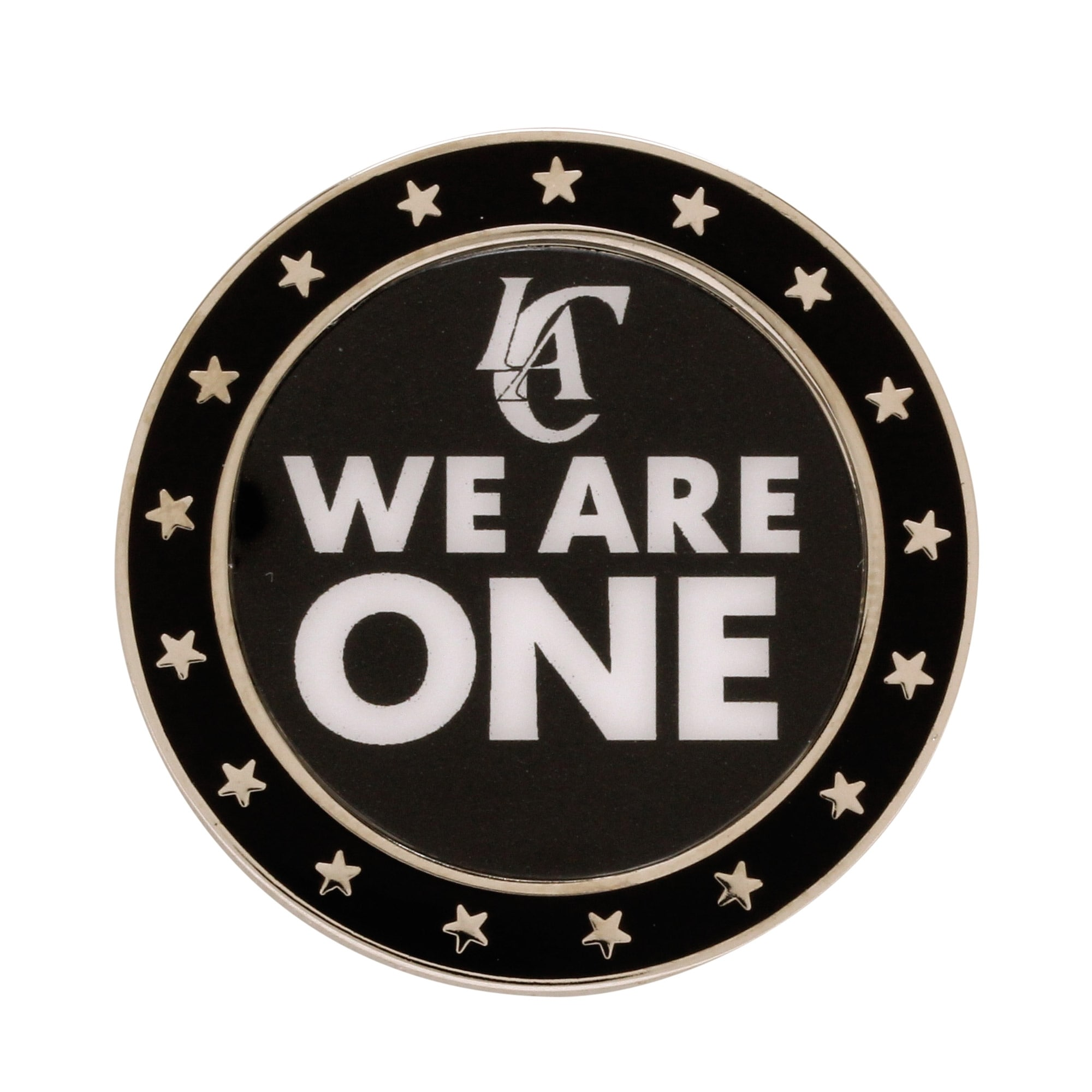 LA Clippers WinCraft We Are One Collector Pin