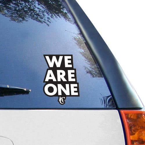 "LA Clippers WinCraft We Are One 8"" x 8"" Perfect Cut Decal"
