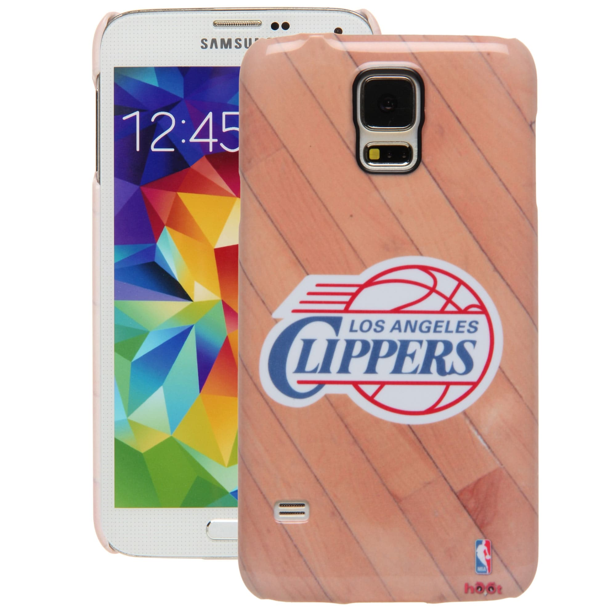 LA Clippers Galaxy S5 Hardwood Court Case
