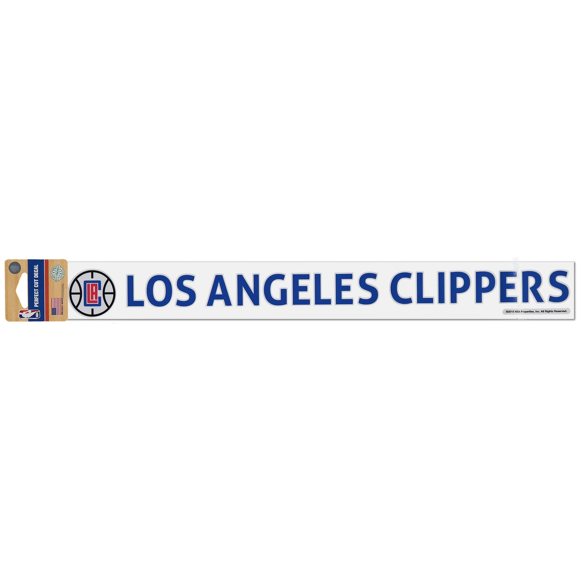 "LA Clippers WinCraft 2"" x 17"" Perfect-Cut Decal"