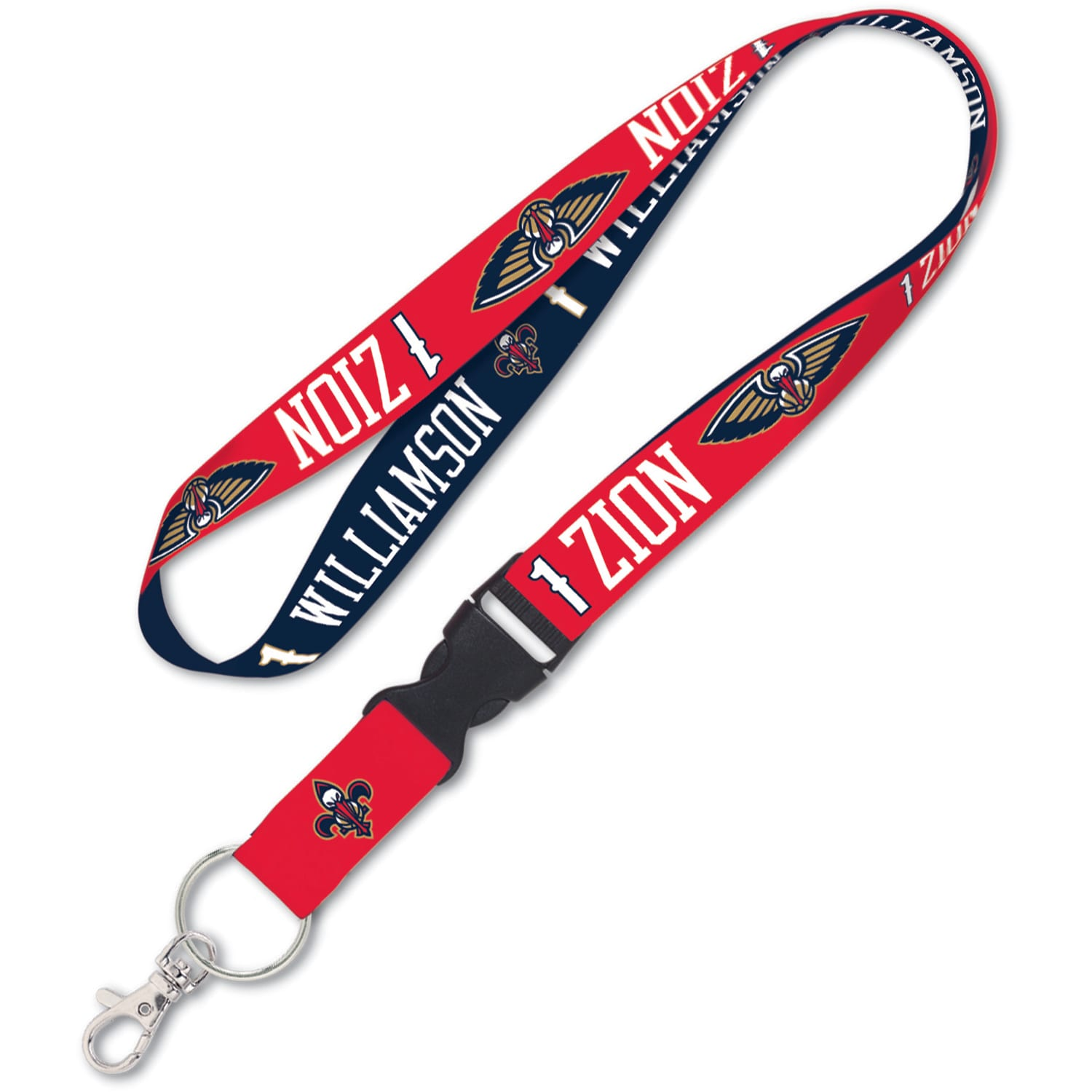Zion Williamson New Orleans Pelicans WinCraft Player Buckle Lanyard