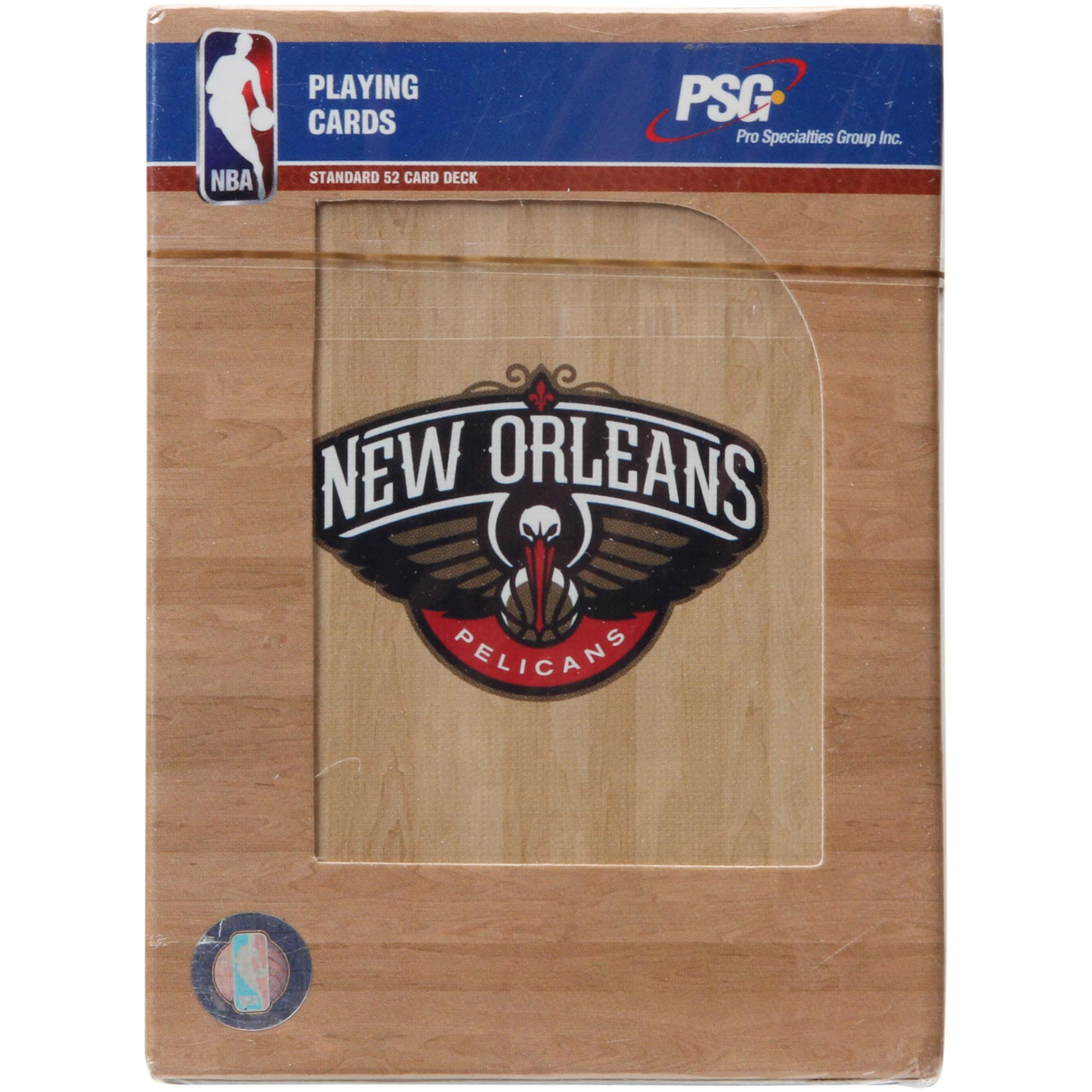 New Orleans Pelicans Team Playing Cards