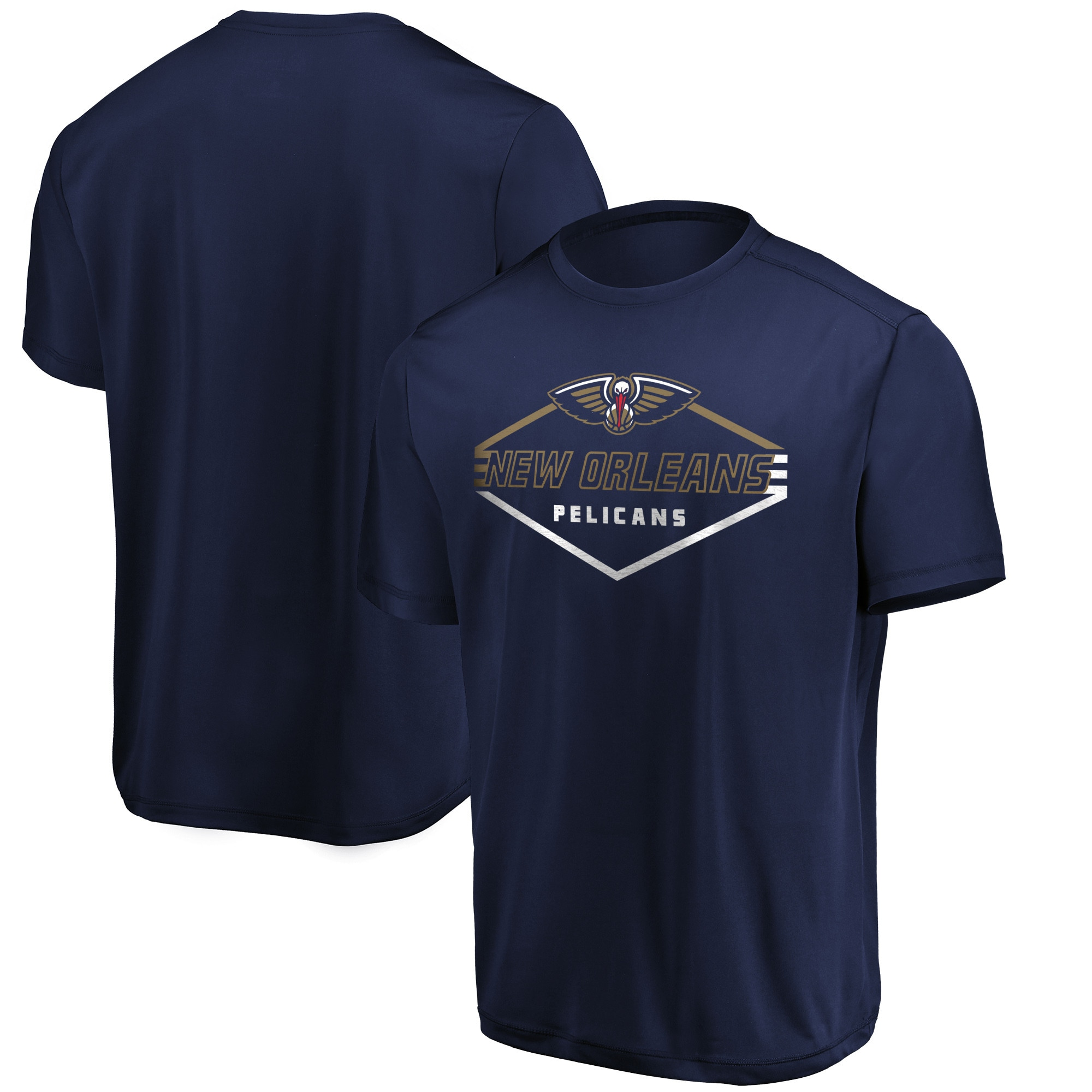 New Orleans Pelicans Majestic Appreciate the Journey Showtime T-Shirt - Navy
