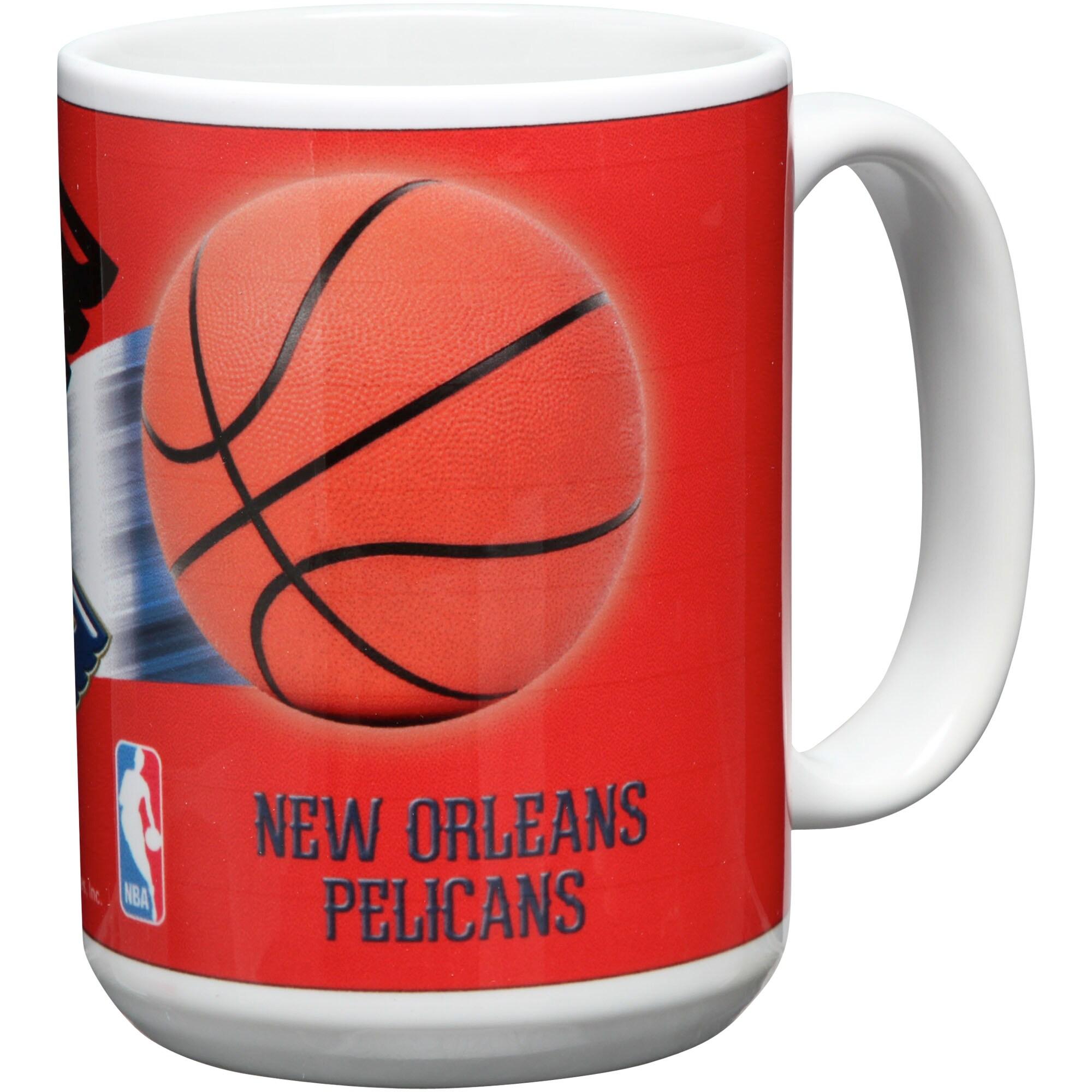 New Orleans Pelicans 15oz. Team 3D Graphic Mug