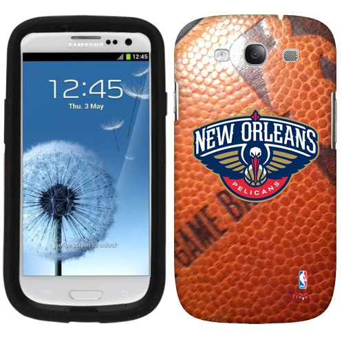 New Orleans Pelicans Samsung Galaxy Game Ball S3 Case