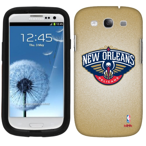 New Orleans Pelicans Samsung Galaxy S3 Case - Gold