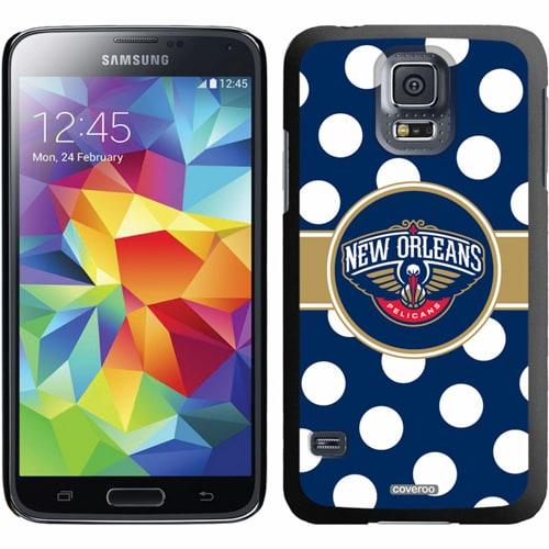 New Orleans Pelicans Galaxy S5 Polka Dot Thin-Shield Case