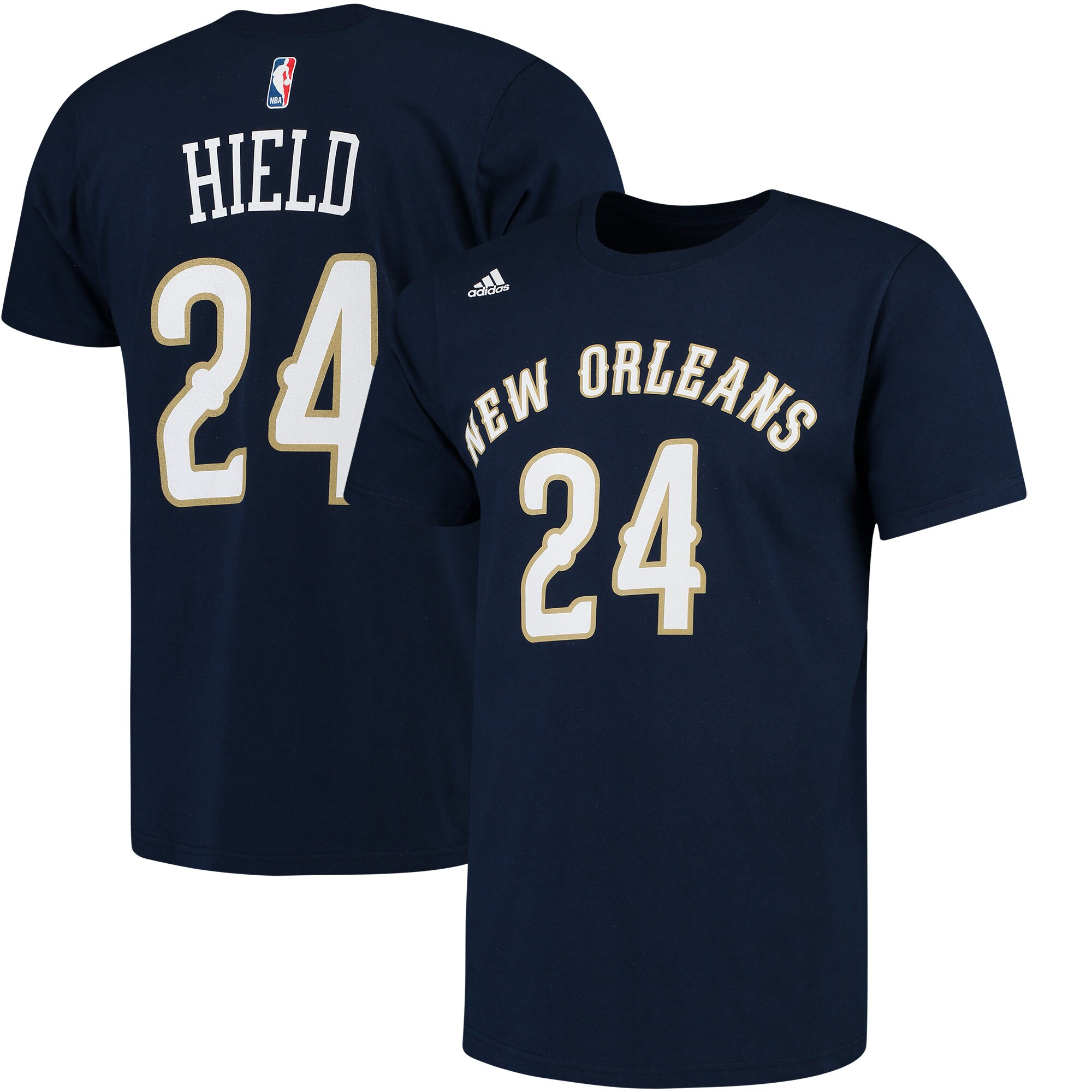 Buddy Hield New Orleans Pelicans adidas Net Number T-Shirt - Navy