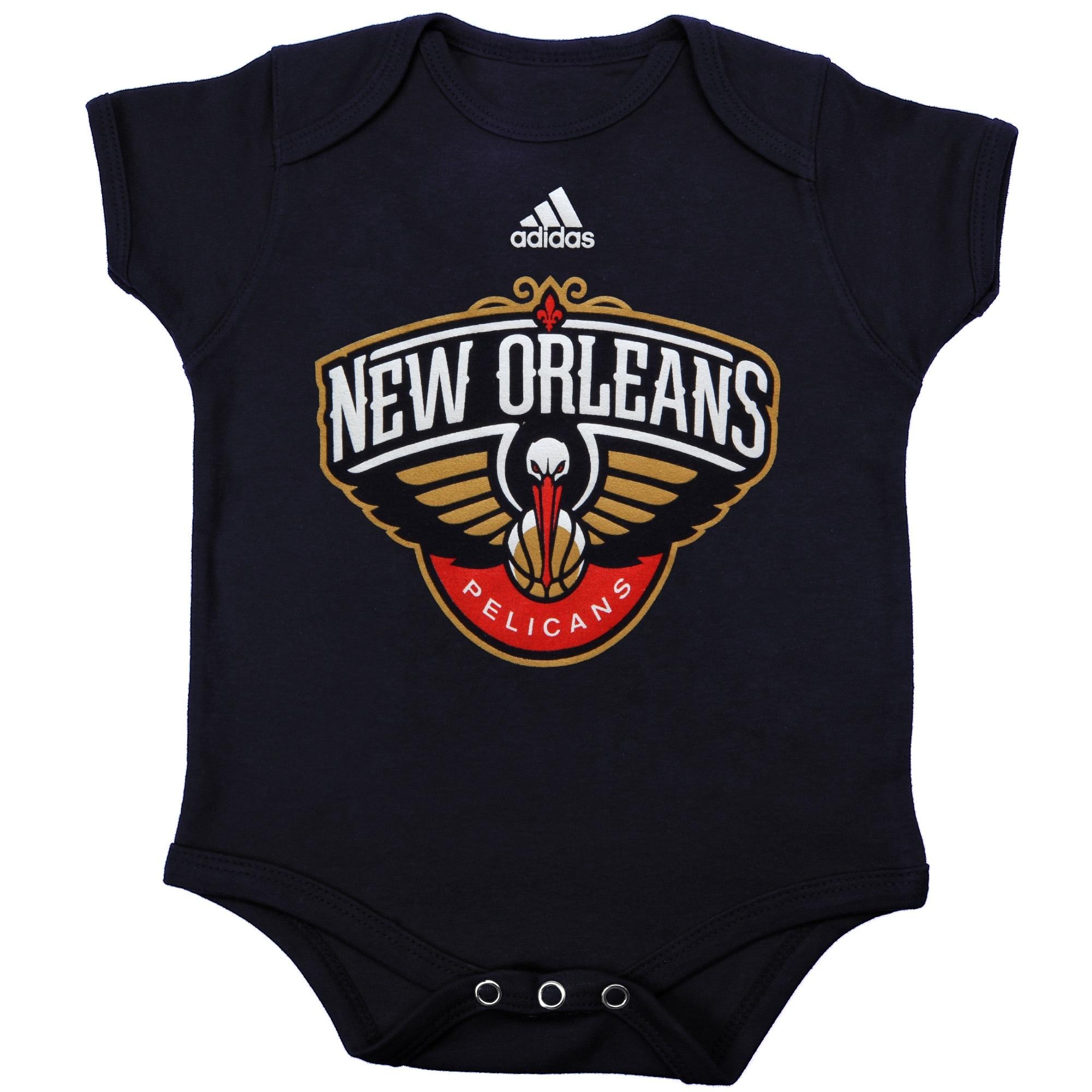 New Orleans Pelicans adidas Infant Primary Logo Bodysuit - Navy