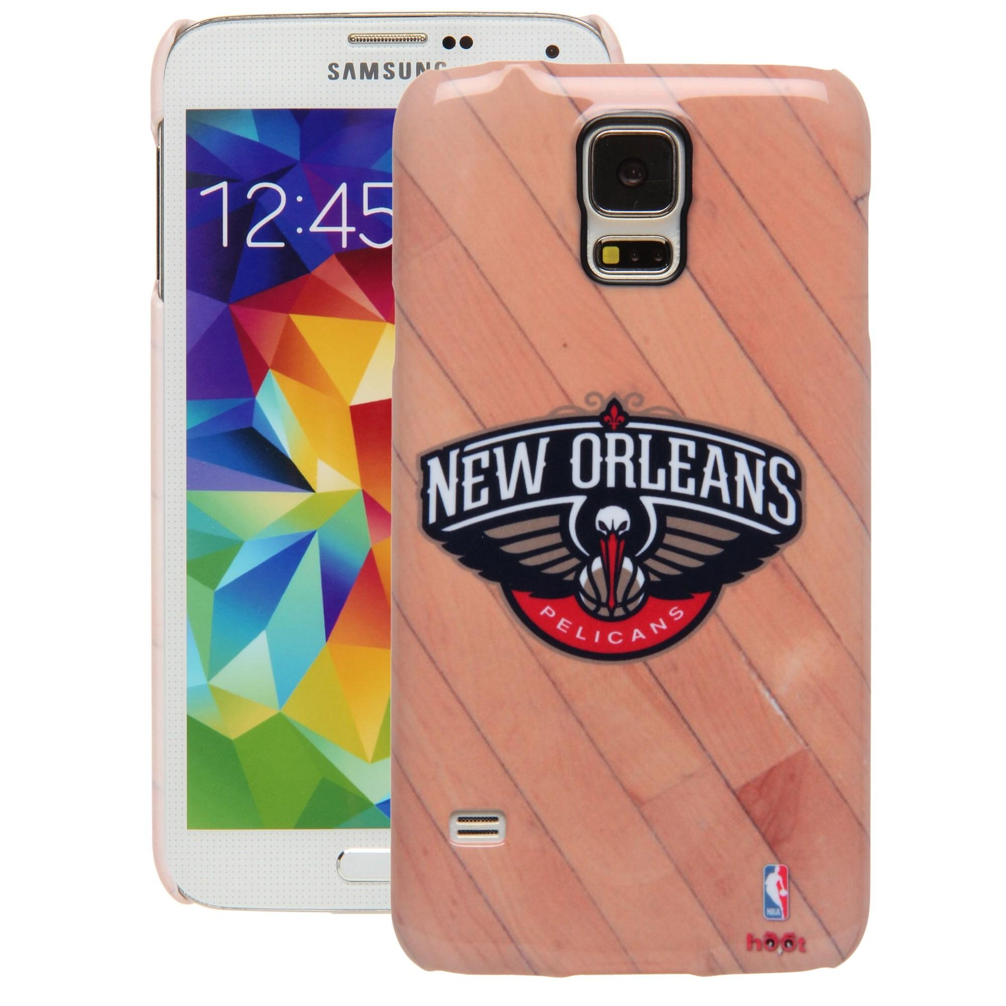 New Orleans Pelicans Galaxy S5 Hardwood Court Case