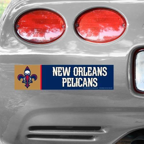 New Orleans Pelicans WinCraft NBA Bumper Sticker