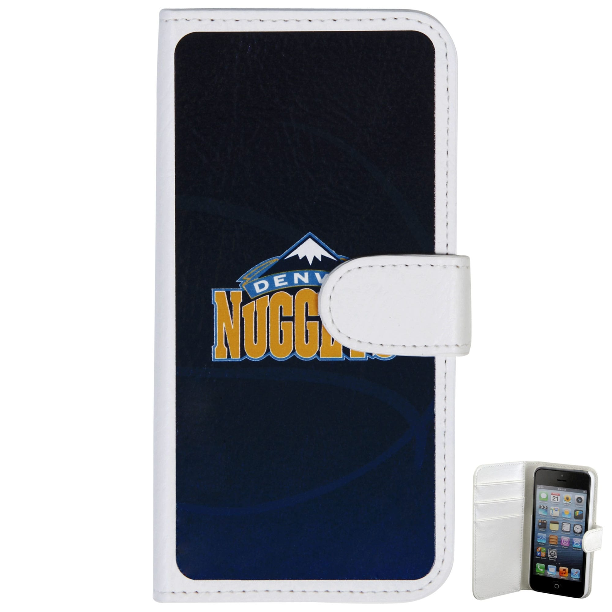 Denver Nuggets Basketball iPhone 5 Wallet