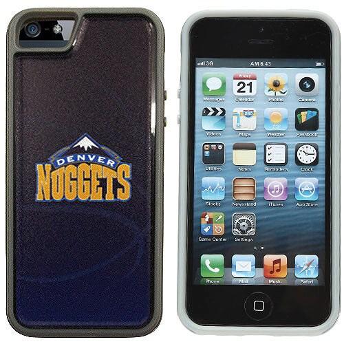 Denver Nuggets Guardian iPhone 5 Case - Black/Navy Blue