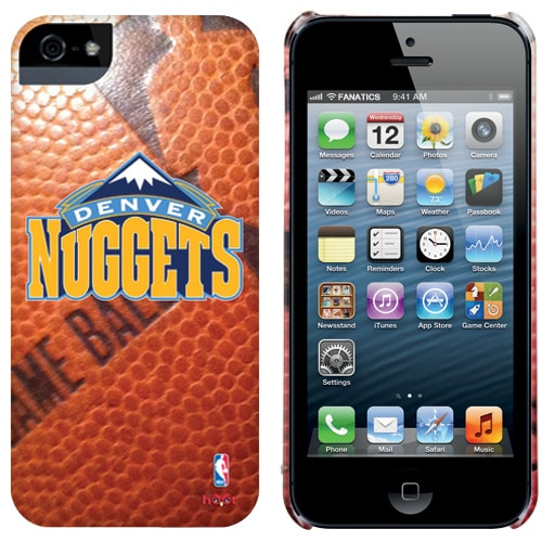 Denver Nuggets iPhone 5 Game Ball Case