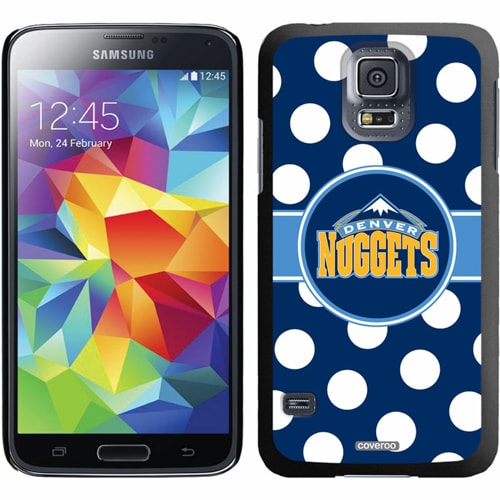 Denver Nuggets Galaxy S5 Polka Dot Thin-Shield Case