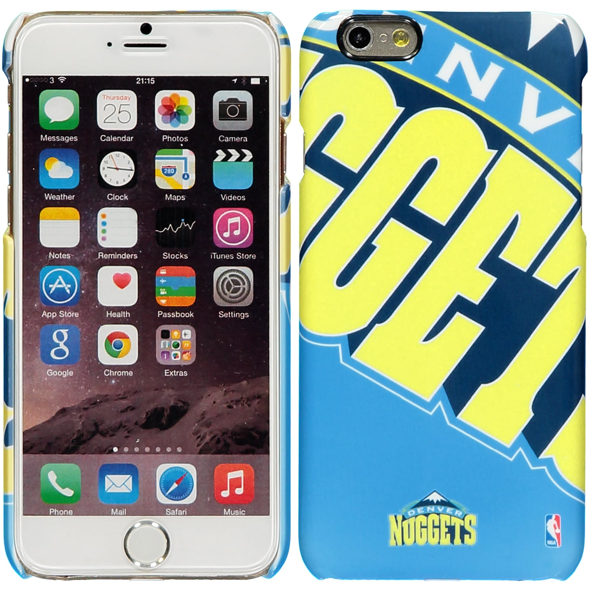 Denver Nuggets iPhone 6 XL Graphic Cell Phone Case