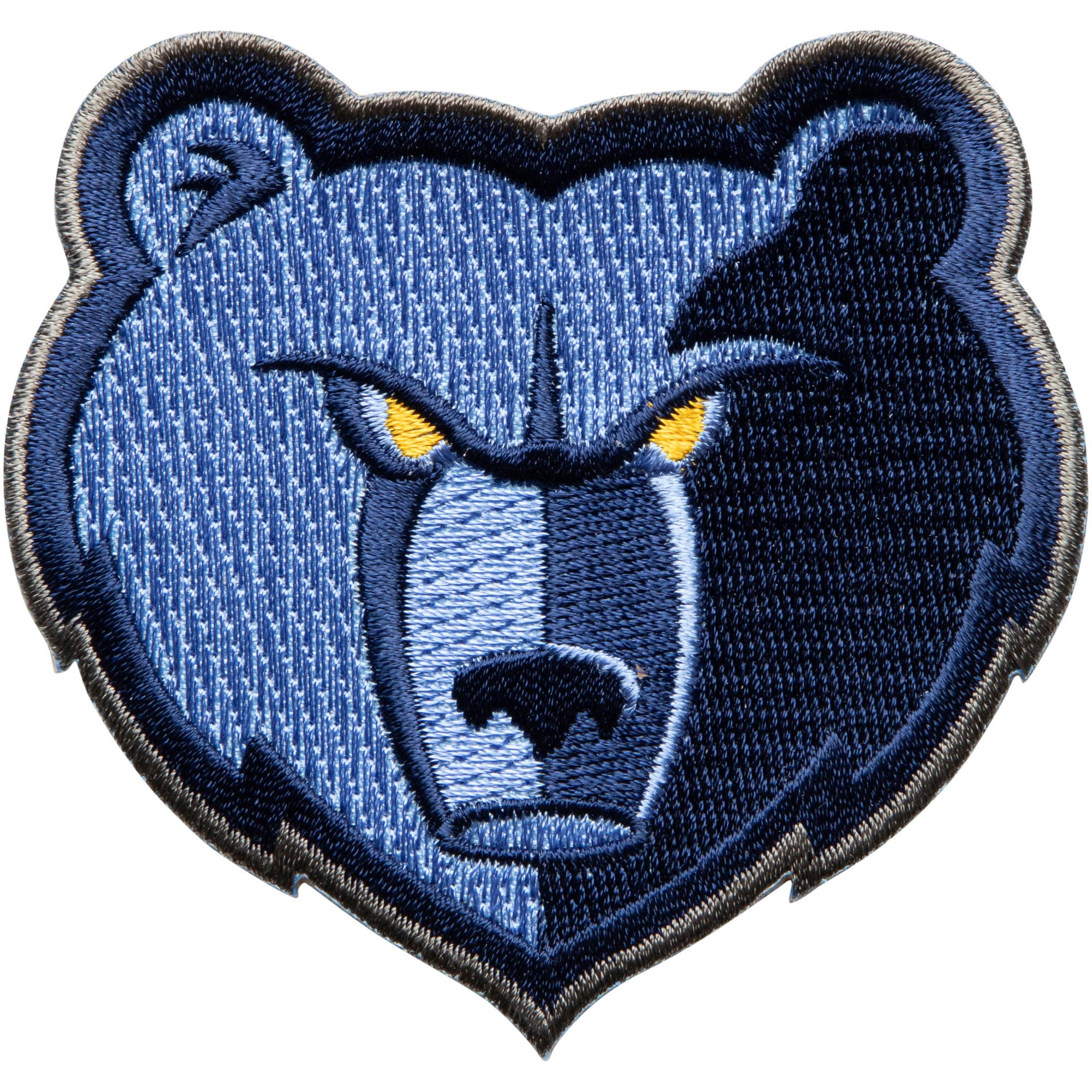 "Memphis Grizzlies 3"" x 2.5"" Team Logo Patch"