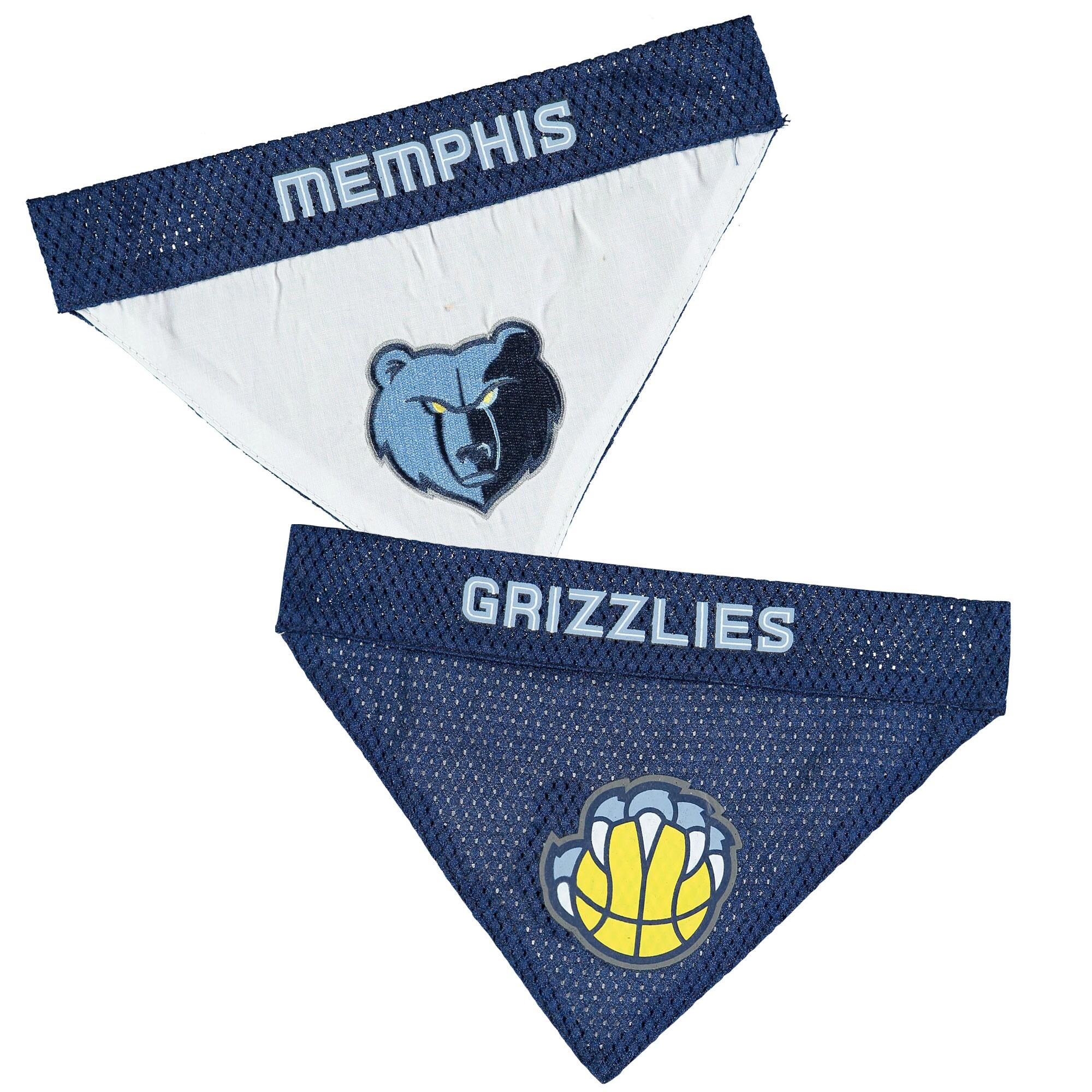 Memphis Grizzlies Reversible Bandana Pet Collar