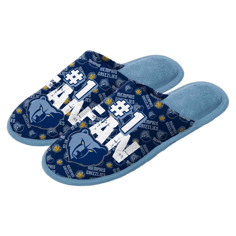 Memphis Grizzlies Youth Scuff Slide Slippers
