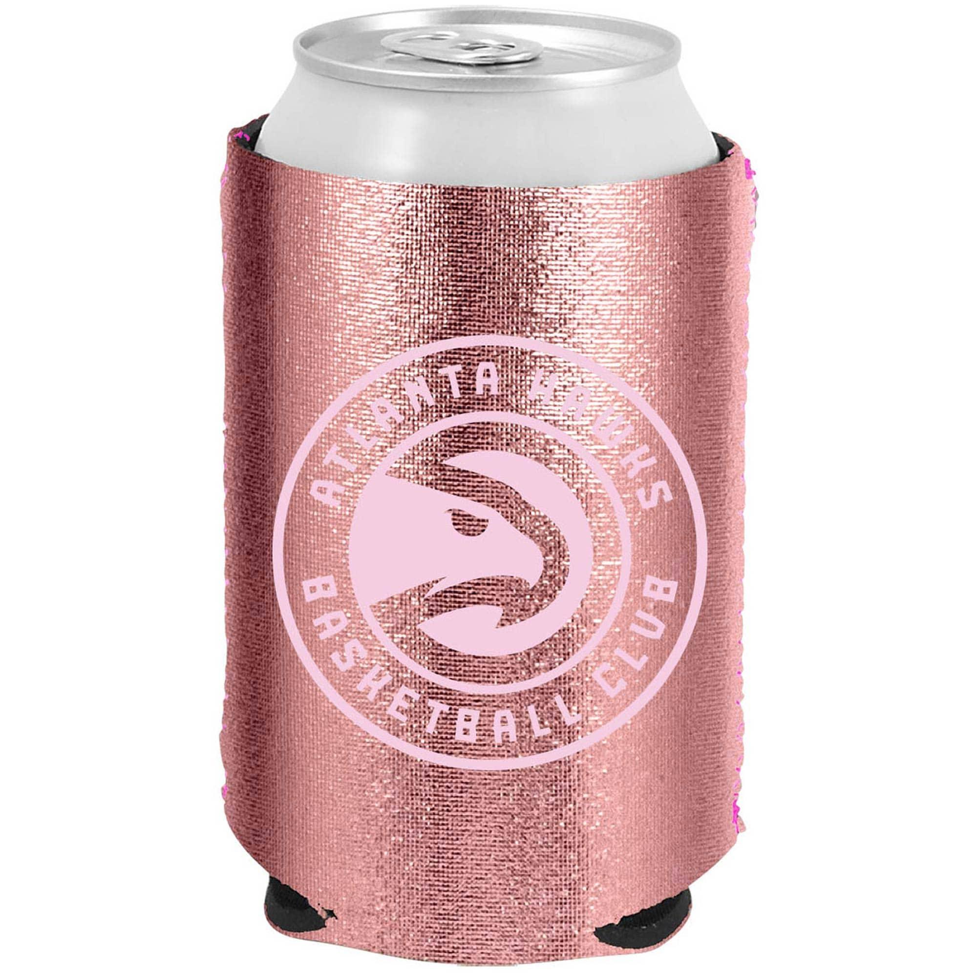 Atlanta Hawks 12oz. Rose Gold Can Cooler