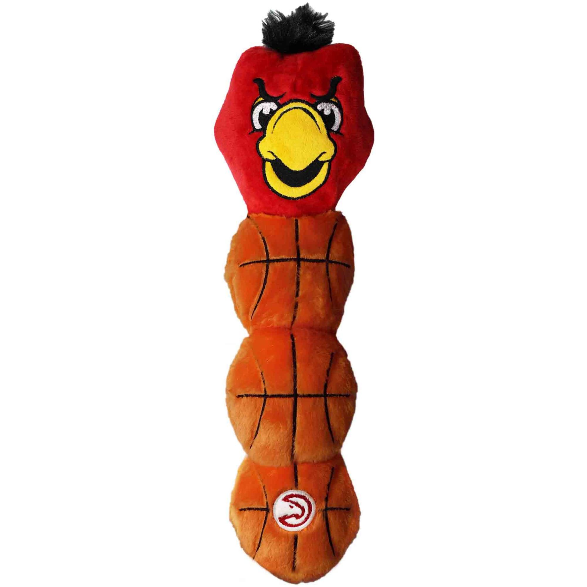 Atlanta Hawks Mascot Long Pet Toy