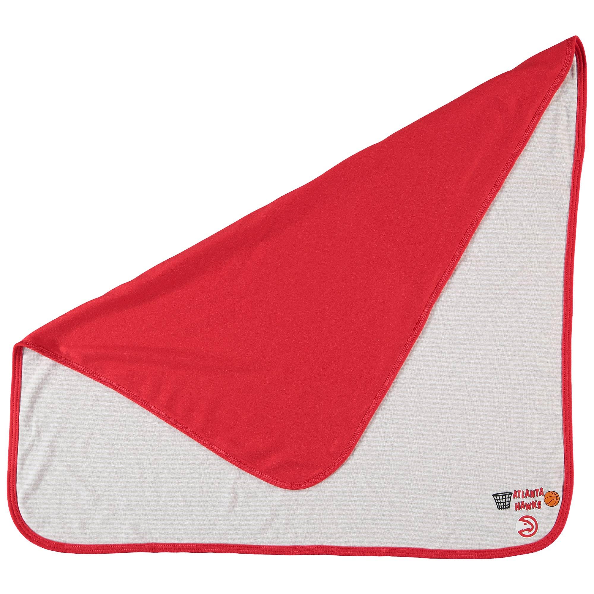 Atlanta Hawks Infant Lil Kicker Baby Blanket - Red