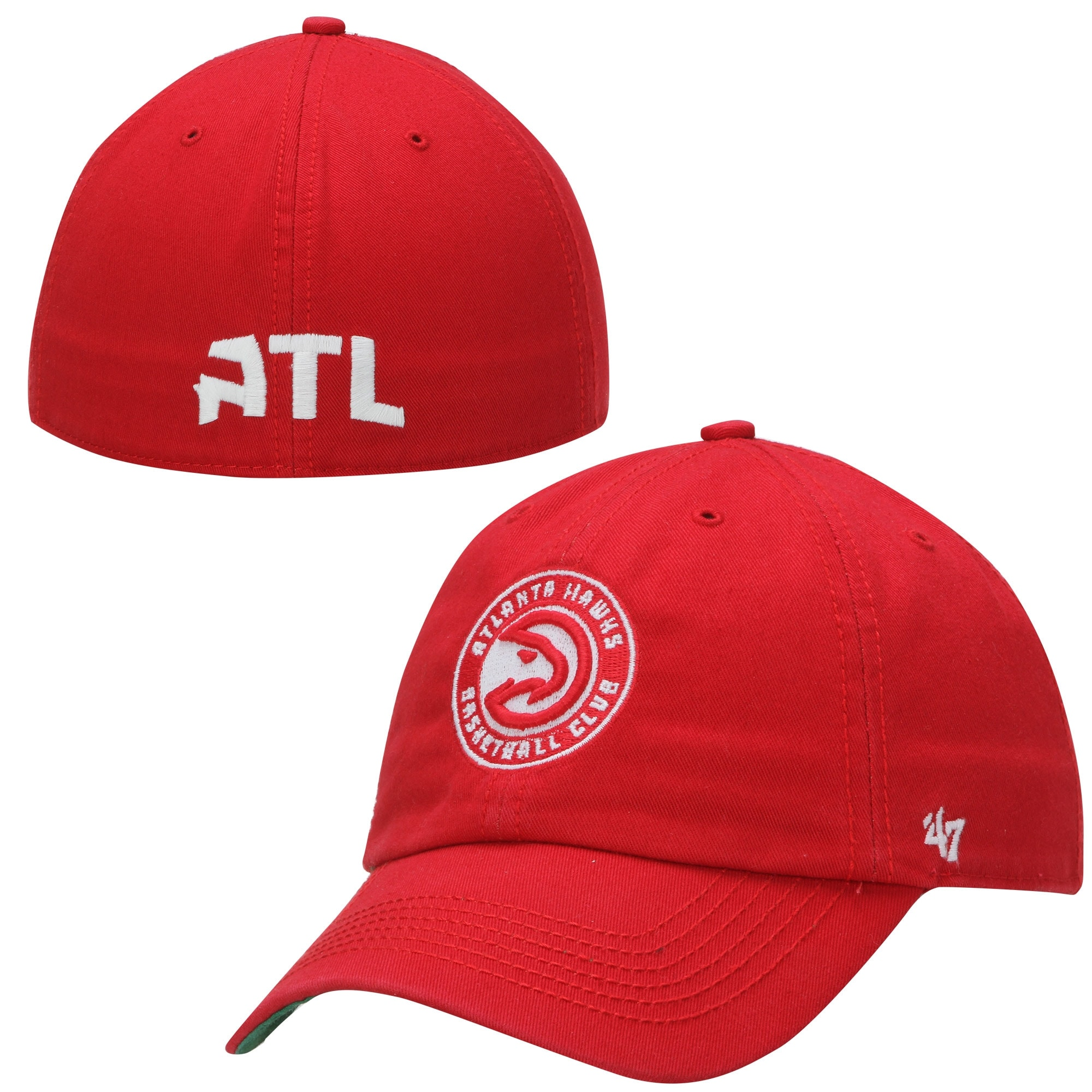 Atlanta Hawks '47 Current Logo Franchise Fitted Hat - Red