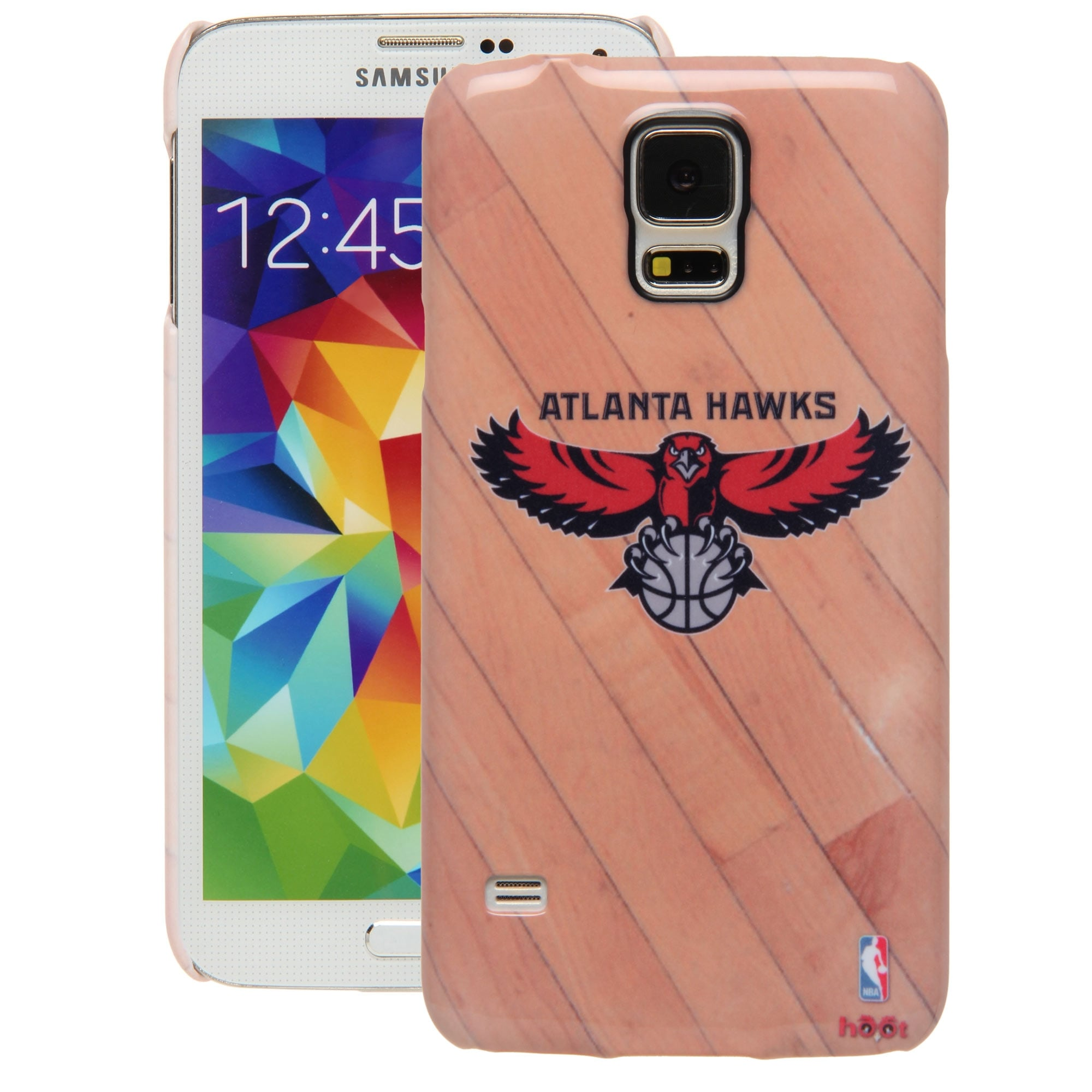 Atlanta Hawks Galaxy S5 Hardwood Court Case