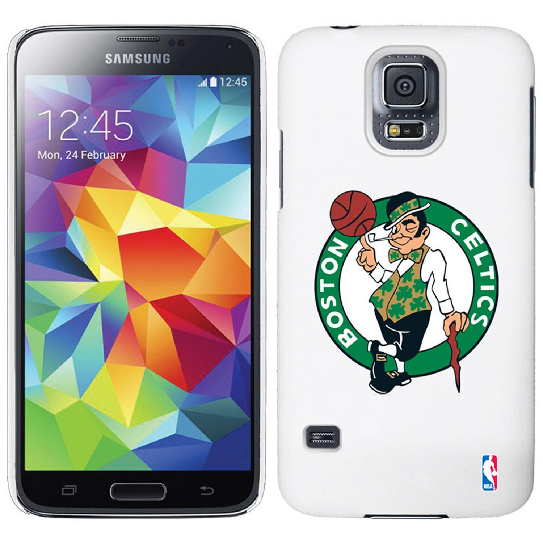 Boston Celtics Galaxy S5 Primary Logo Thinshield Case - White