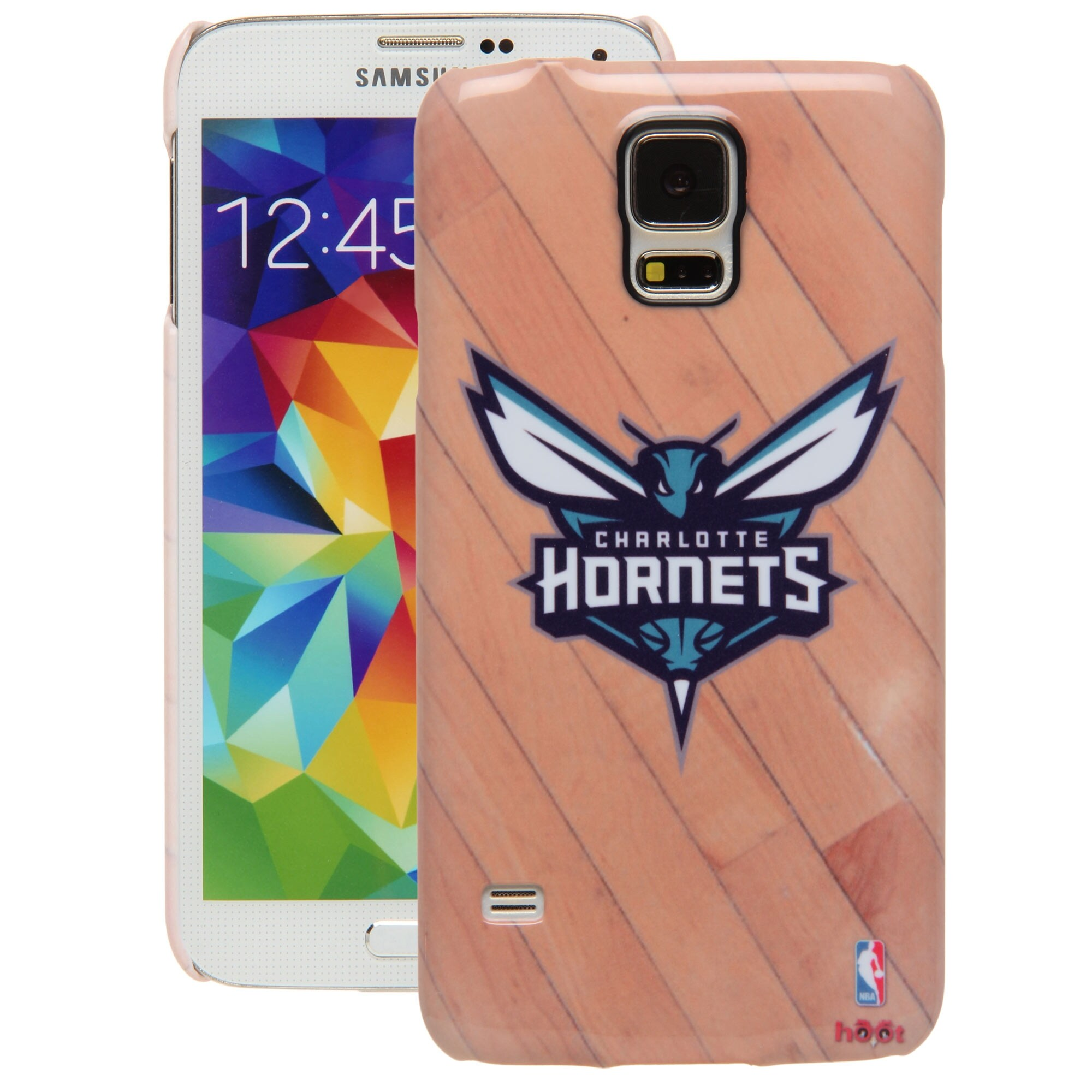 Charlotte Hornets Galaxy S5 Hardwood Court Case