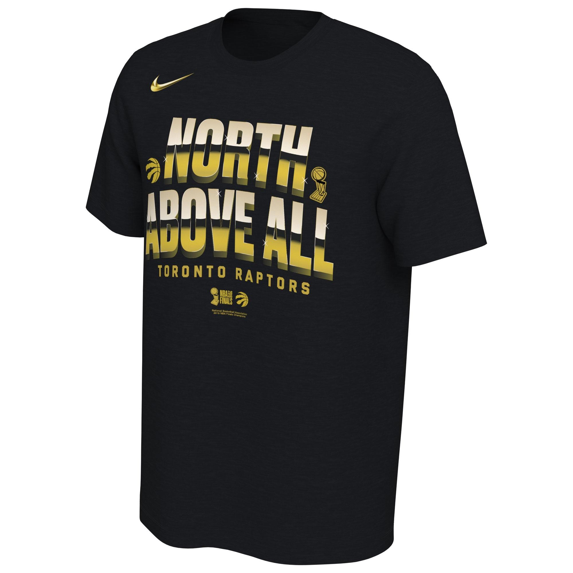 Toronto Raptors Nike 2019 NBA Finals Champions Celebration Mantra Performance T-Shirt - Black