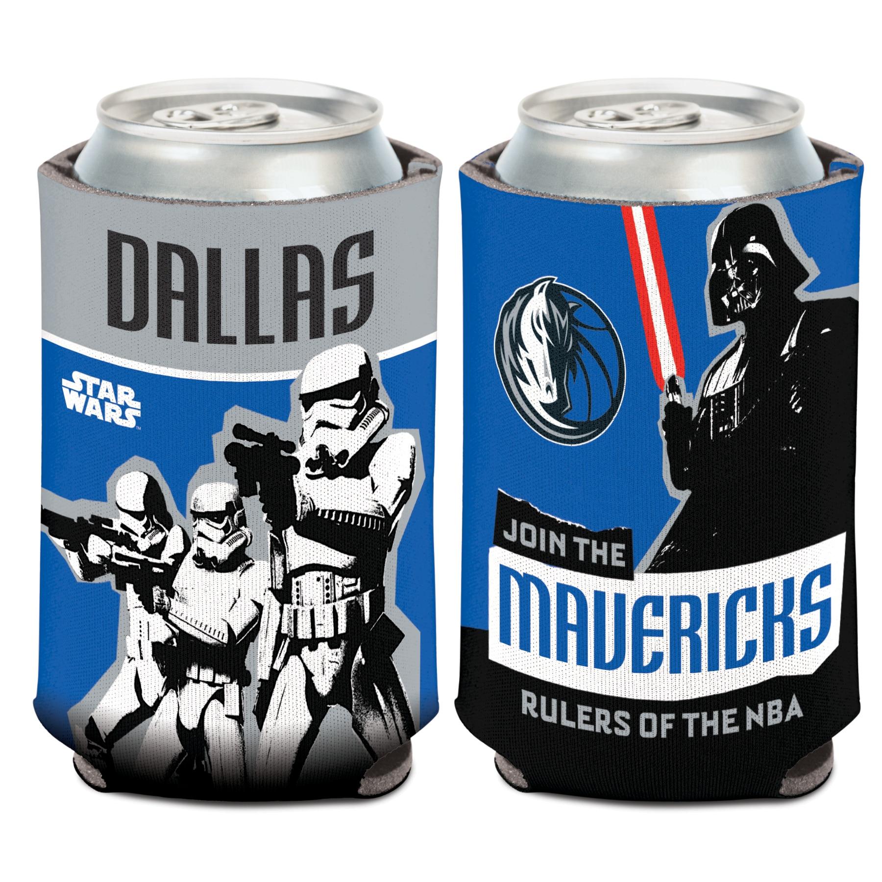 Dallas Mavericks WinCraft Star Wars Storm Troopers 12oz. Can Cooler