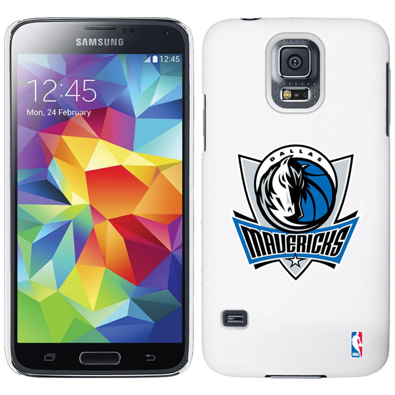 Dallas Mavericks Galaxy S5 Primary Logo Thinshield Case - White